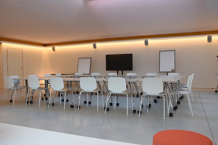 Opstelling in vergaderruimte create