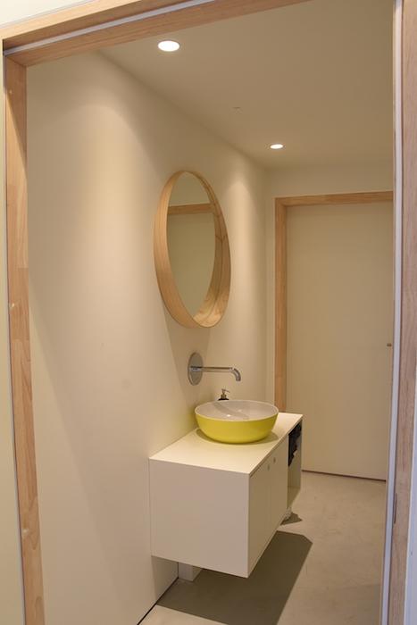 Beeld van de (gemeenschappelijke) sanitaire ruimte