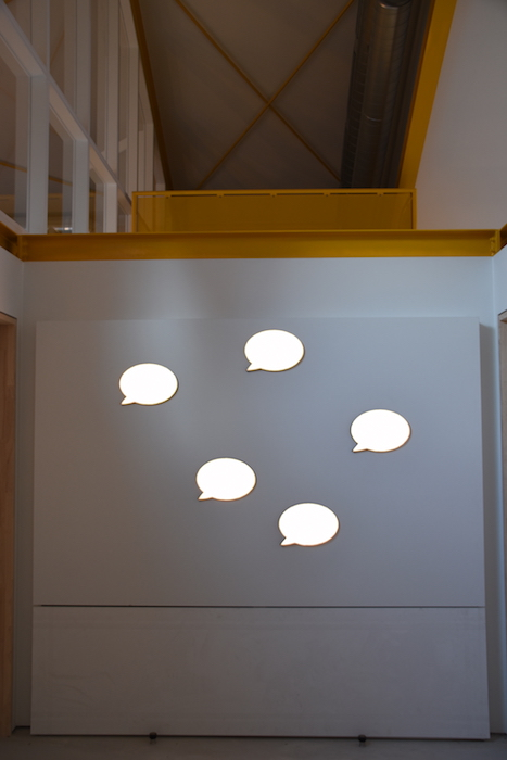 Warm welcome with unique designed wall-lights