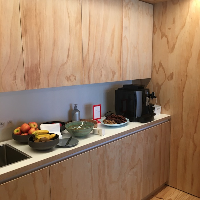 The kitchen for meeting rooms create and nurture